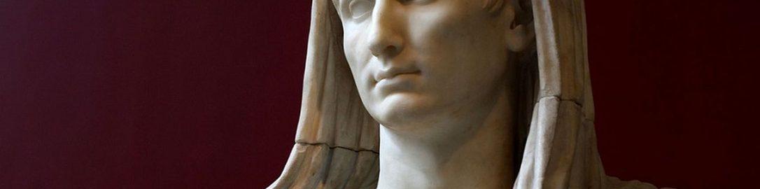 Octavian Augustus as pontifex maximus