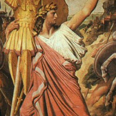 Pierwszy legendarny król rzymski, Romulus