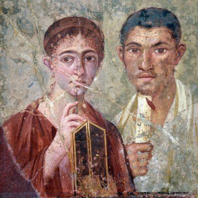 Portret pary małżeńskiej z II połowy I wieku n.e.
