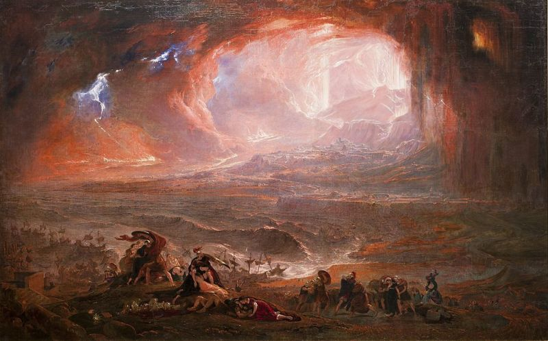 John Martin, Destruction of Pompeii and Herculaneum
