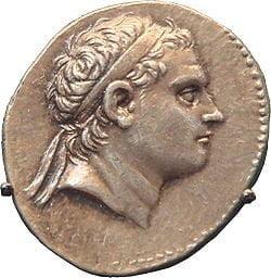 Antiochus III coin
