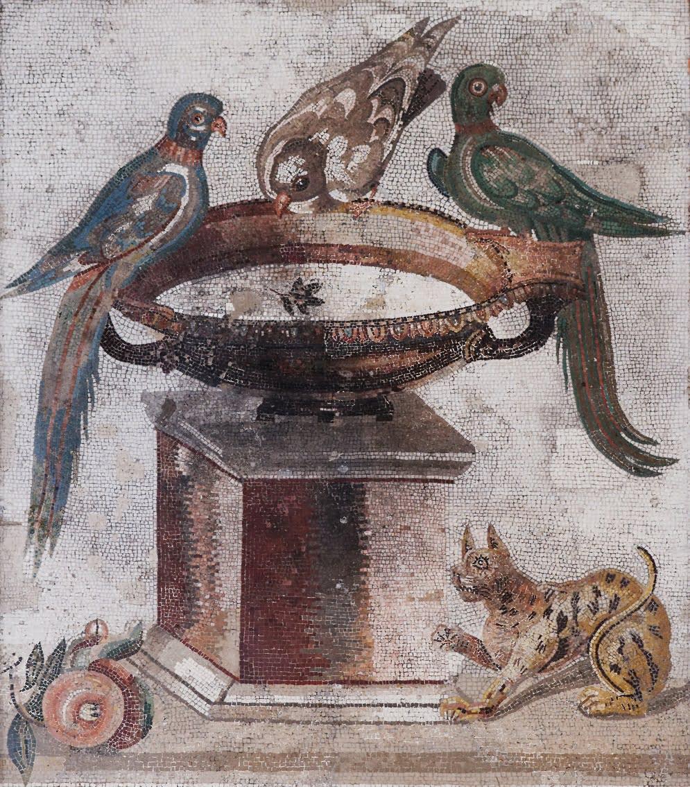 Mozaika w Pompejach
