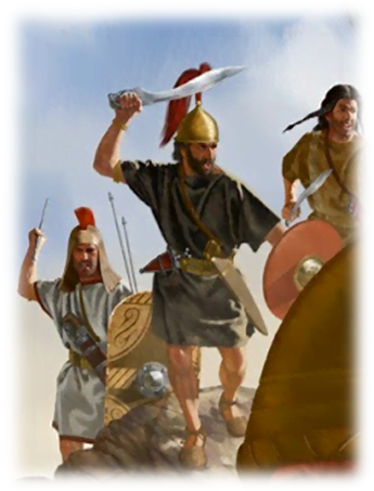Spanish warriors