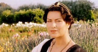 """Danuta Stenka jako Pomponia Grecyna w filmie """"Quo vadis"""" (2001)"""