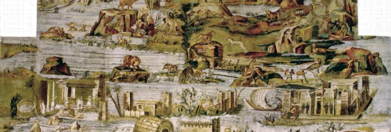 Mozaika w stylu nilotycznym z Praeneste