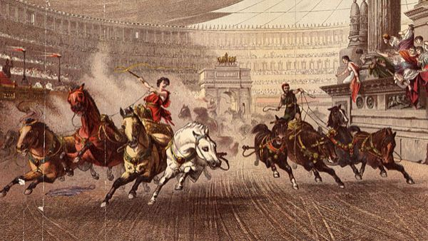 Wyścig rydwanów w Circus Maximus