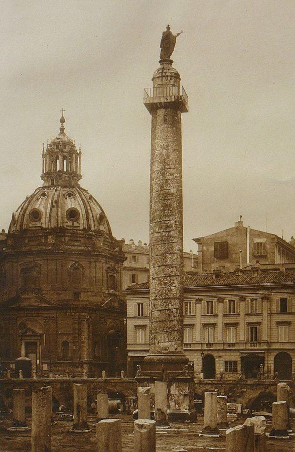 Kolumna Trajana w roku 1896