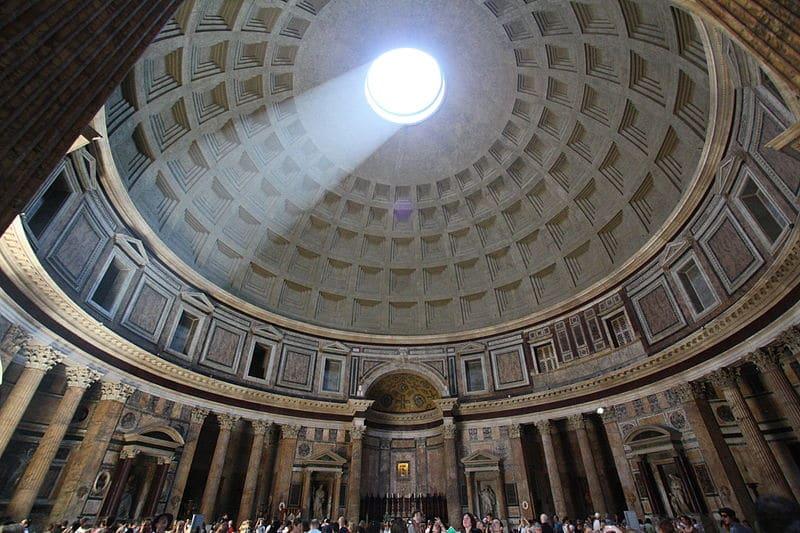 Kopuła Panteonu z oculusem