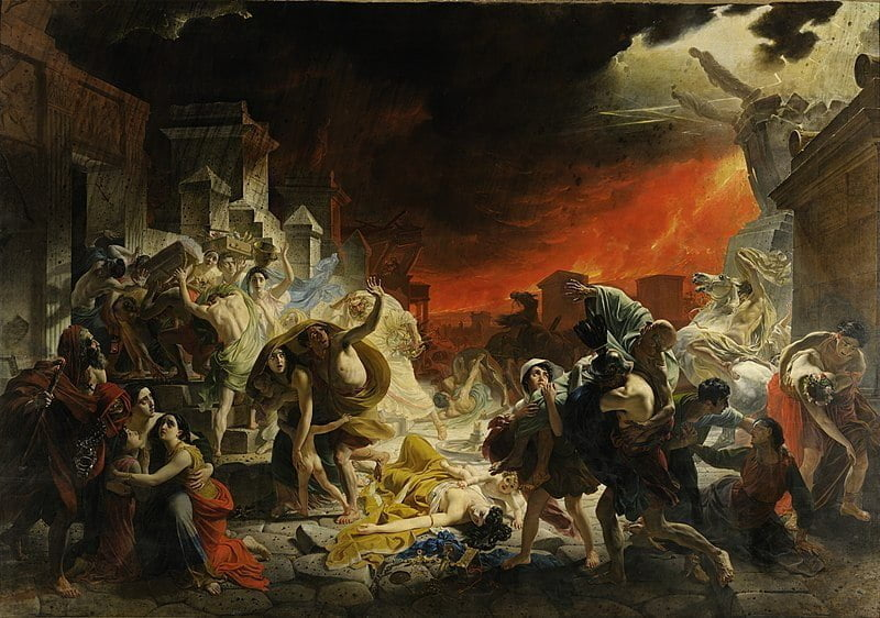 Karl Brullov, Last day of the Pompeii