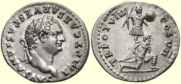 Coin of Titus Flavius