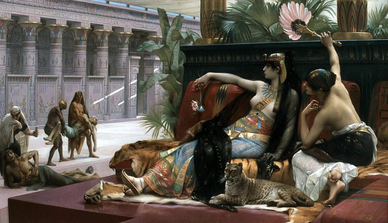 Alexandre Cabanel, Cleopatra checking poisons on prisoners