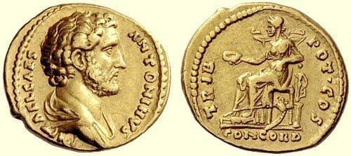 Moneta Antoninusa Piusa