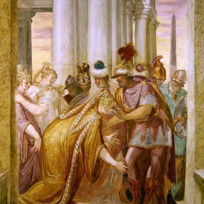 Sophonisba błagająca o pomoc Masynissę