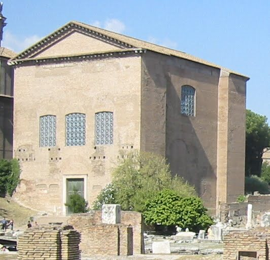Curia Julia na Forum Romanum