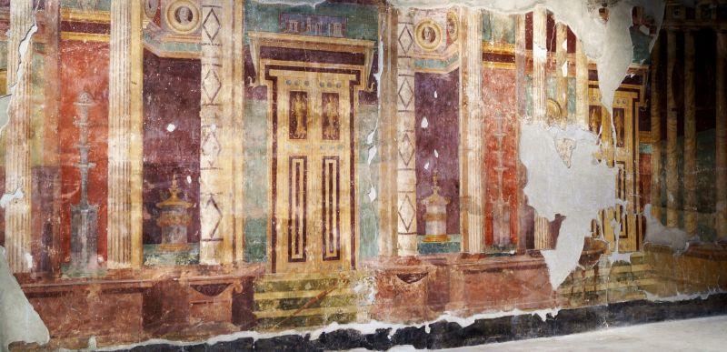 Fresco in the Poppea's villa