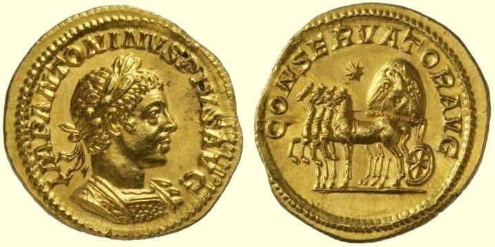 Moneta Heliogabala | Classical Numismatic Group, Inc. http://www.cngcoins.com