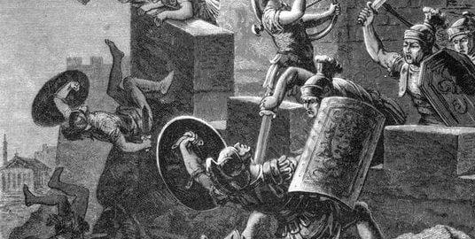 Gęsi kapitolińskie alarmują obrońców