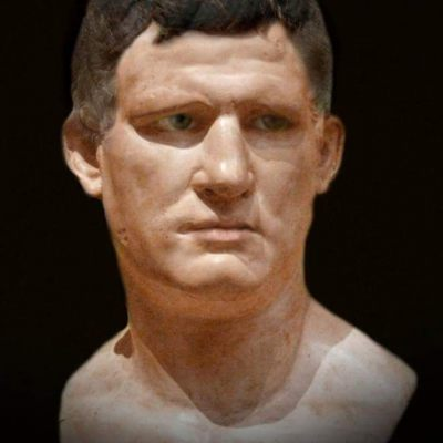 Reconstruction of the image of Marcus Vipsanius Agrippa