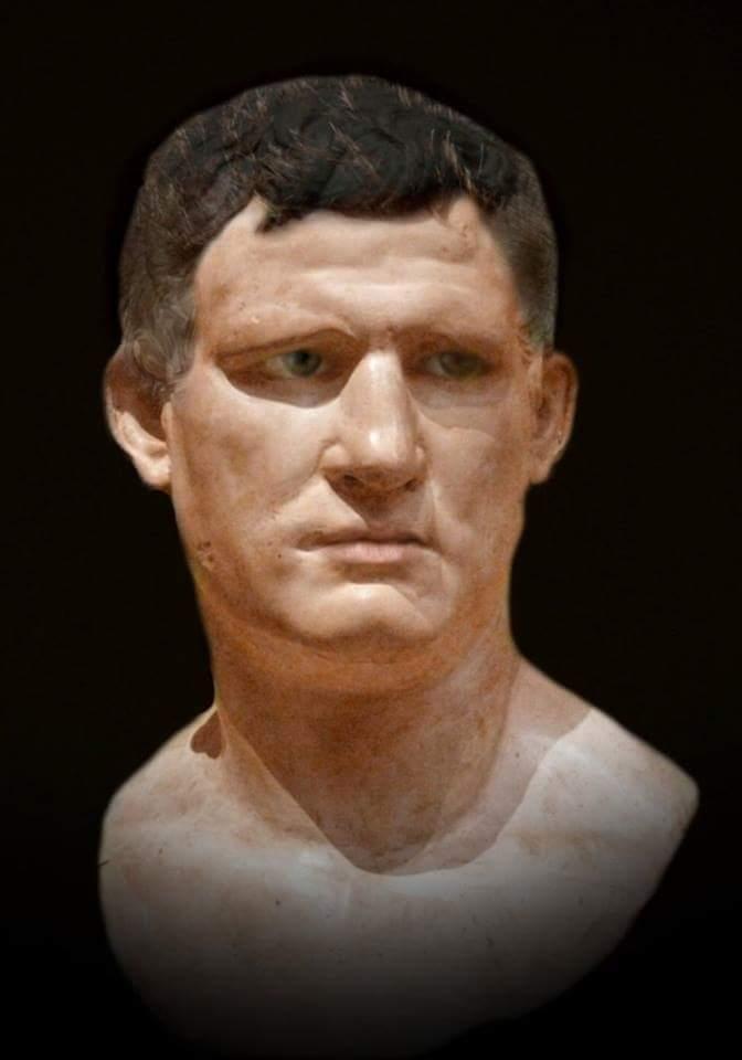 Rekonstrukcja wizerunku Marka Wipsaniusza Agryppy