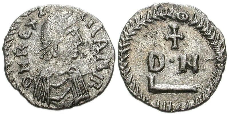 Moneta z podobizną Gelimera