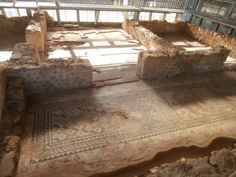 Interior of a Roman villa in Skala
