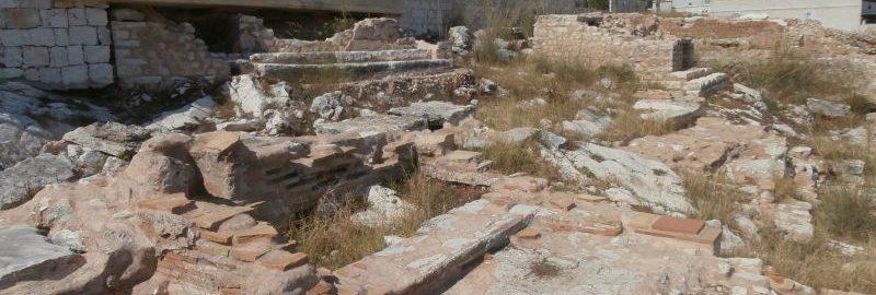 Roman burial ground in Fiskardo