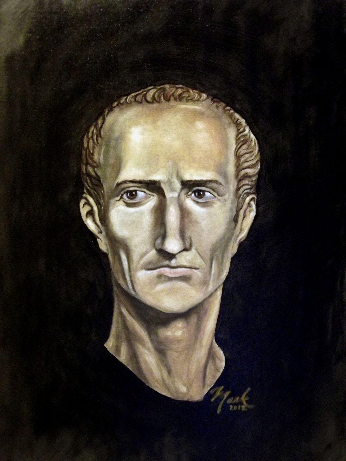 Portret Juliusza Cezara, Mark James Miller