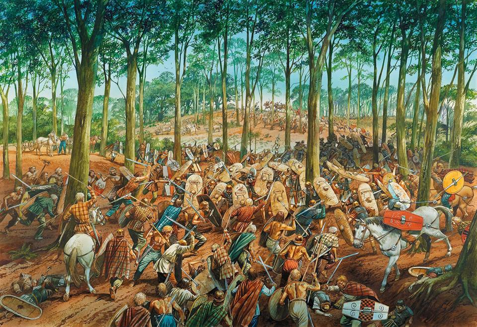 Kwintus Petyliusz Cerialis z oddziałem IX Legionu Hispana wpadł w zasadzkę i został pokonany przez siły Boudiki
