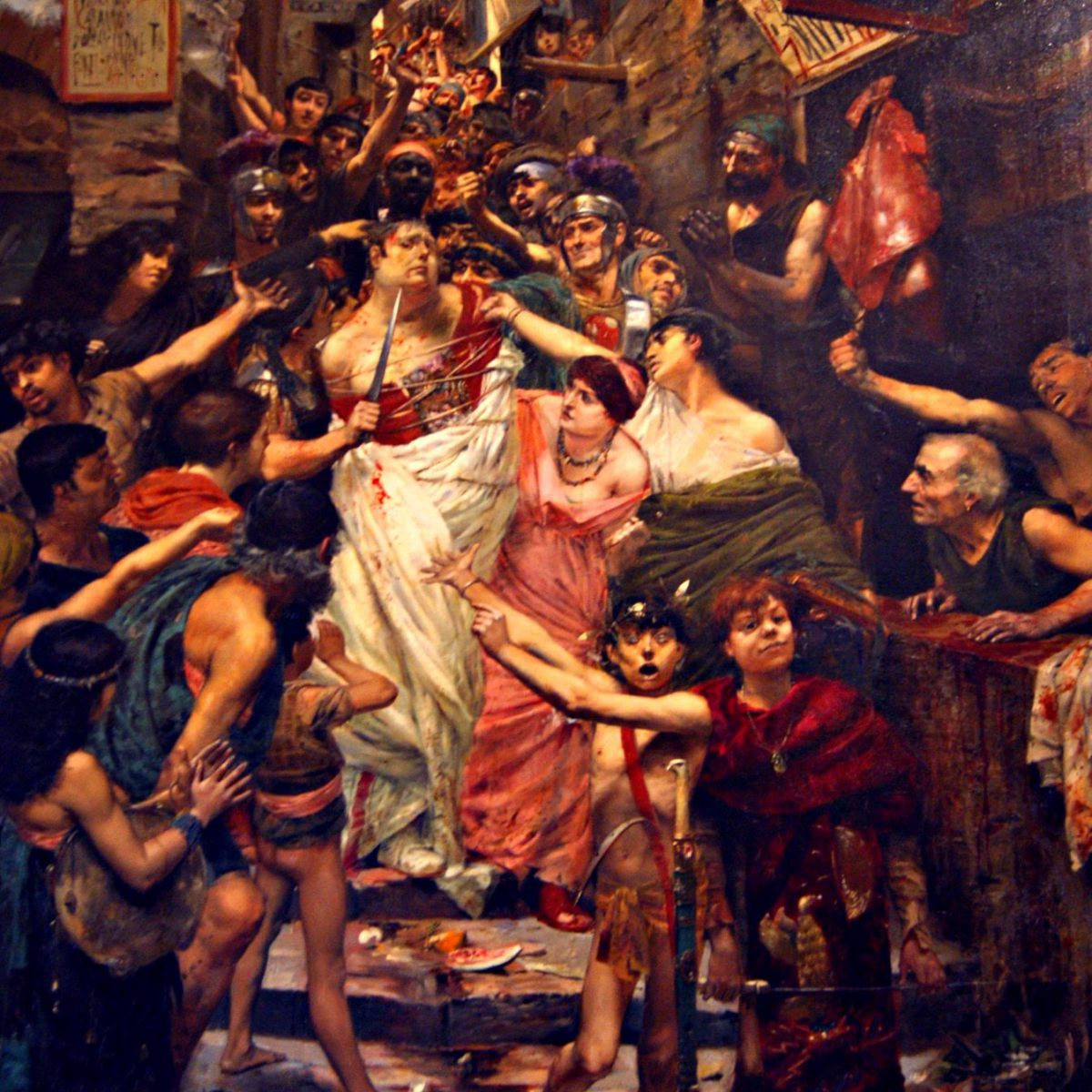 Vitellius Dragged Through the Streets of Rome by the People