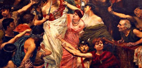 Vitellius Dragged through the Streets by the People of Rome, Georges Rochegrosse