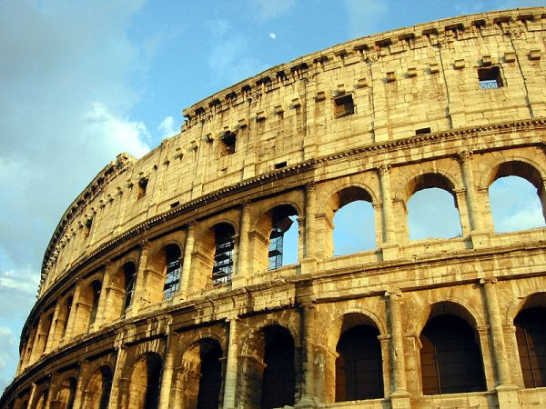 Koloseum było symbolem potęgi cezarów Rzymu