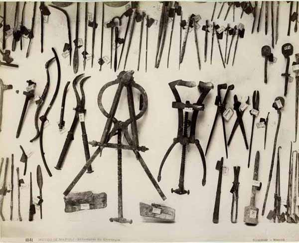 Rzymskie narzędzia medyczne znalezione w Pompejach