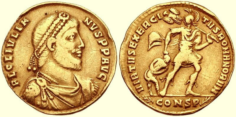 Coin of Julian the Apostate