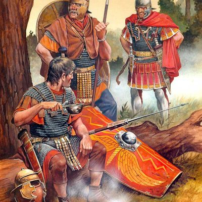 Romans in Germania from the 1st century CE