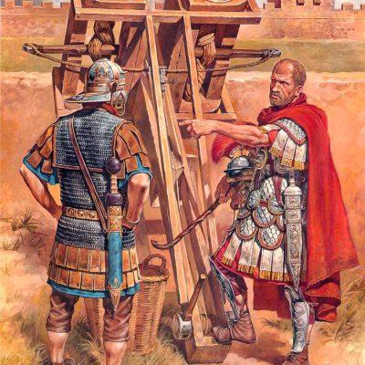 Rzymska machina oblężnicza - skorpion