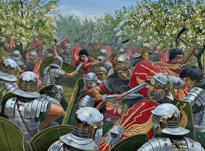 Wizualizacja II bitwy pod Bedriacum