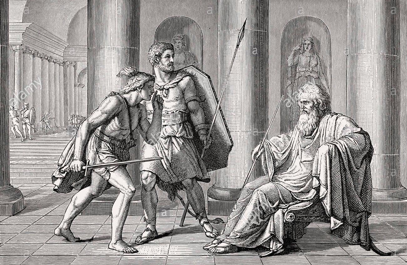 Senones and Marcus Papirius