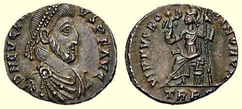 Coin of Flavius Eugenius