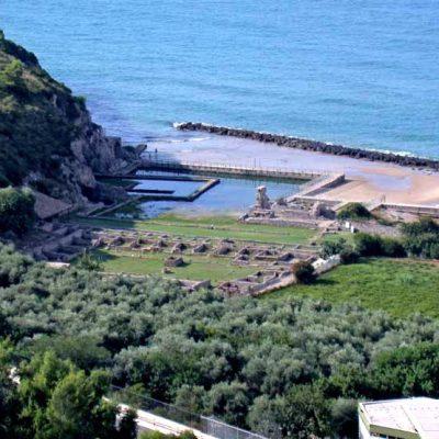 Pozostałości willi Tyberiusza w Sperlonga