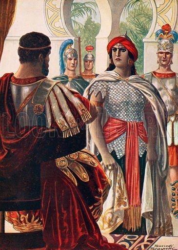 Zenobia w obecności Aureliana