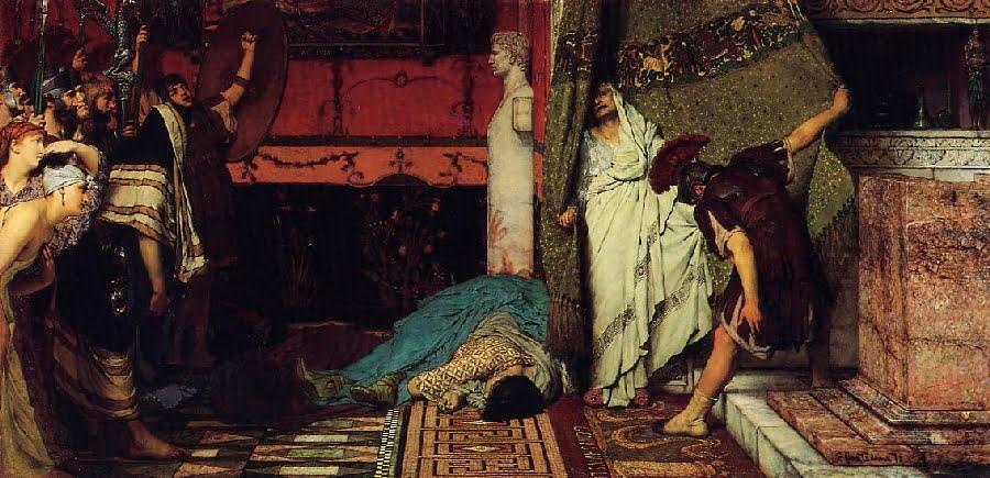 Cesarz rzymski, Klaudiusz, Lawrence Alma-Tadema