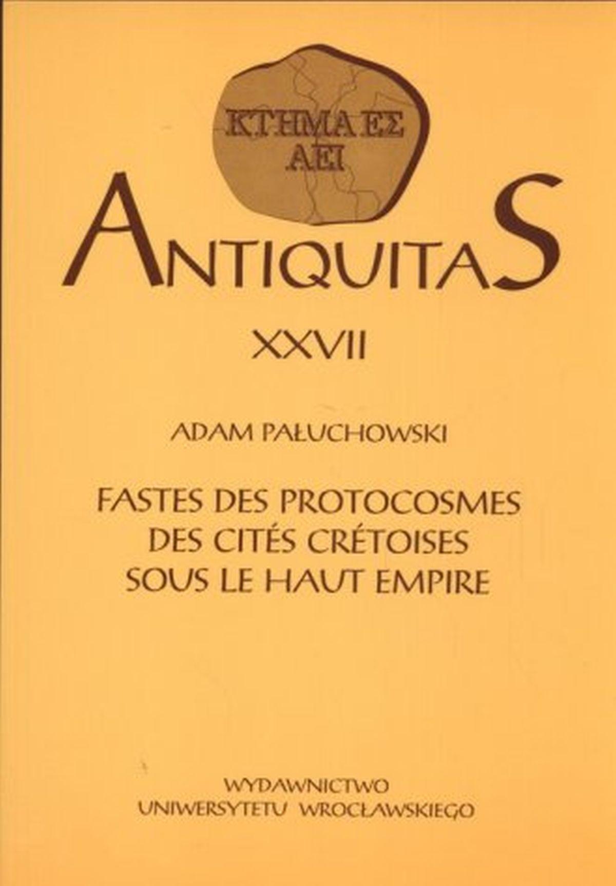 Antiquitas XXVII
