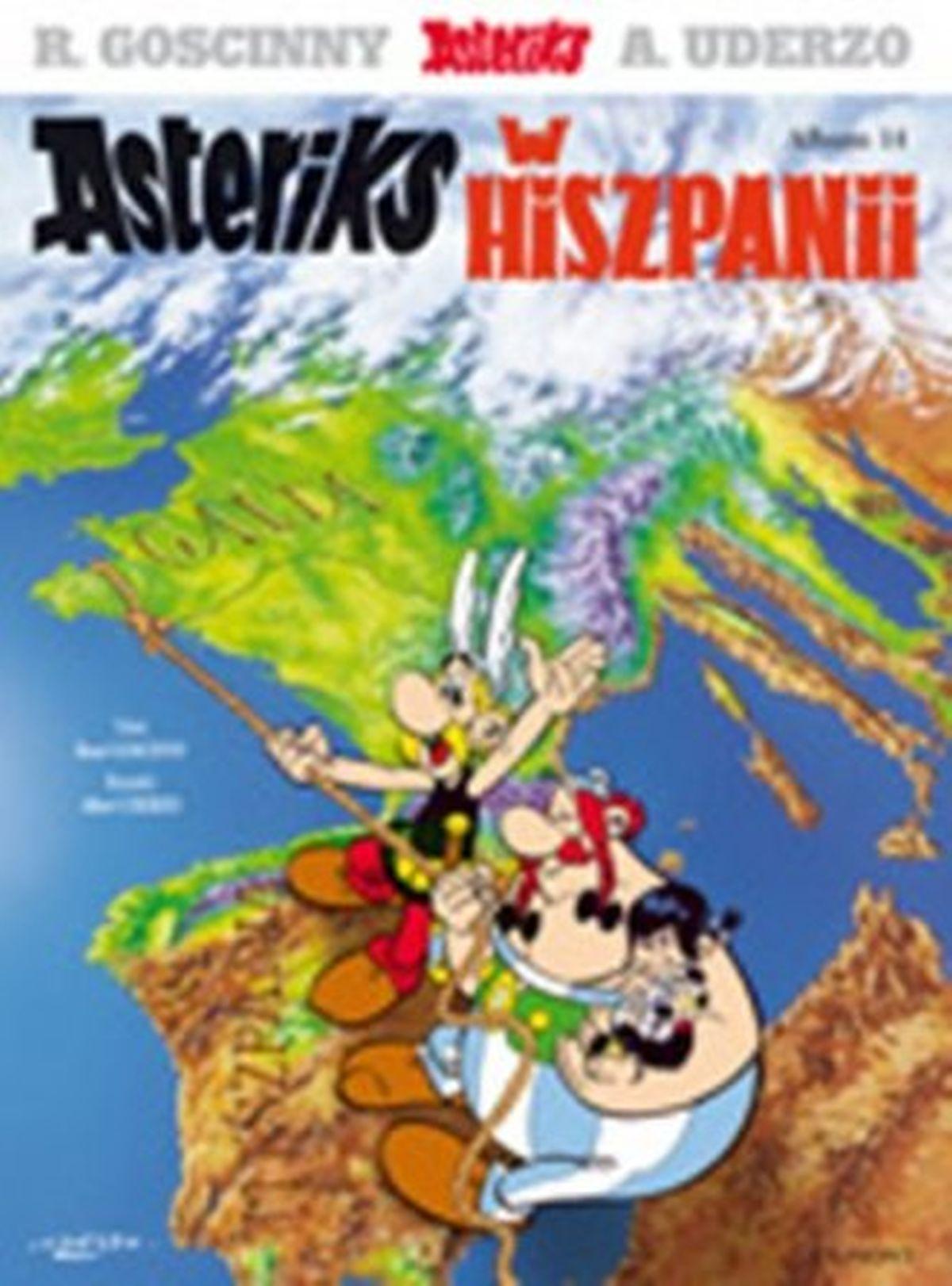 Rene Gościnny, Albert Uderzo, Asteriks. Album 14. Asteriks w Hiszpanii
