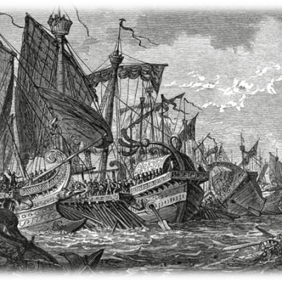 Bitwa morska w starożytności