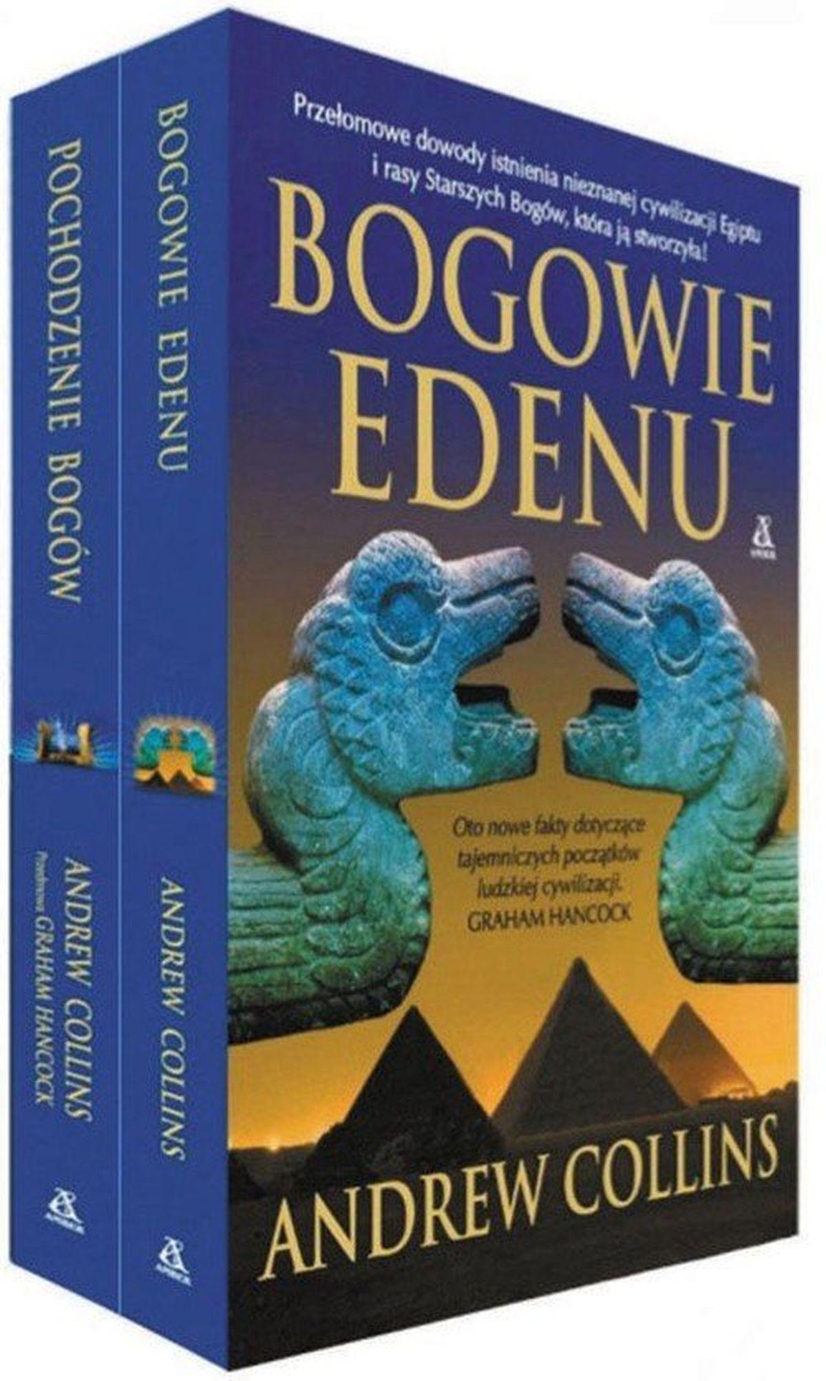 Andrew Collins, Bogowie Edenu / Pochodzenie bogów. PAKIET