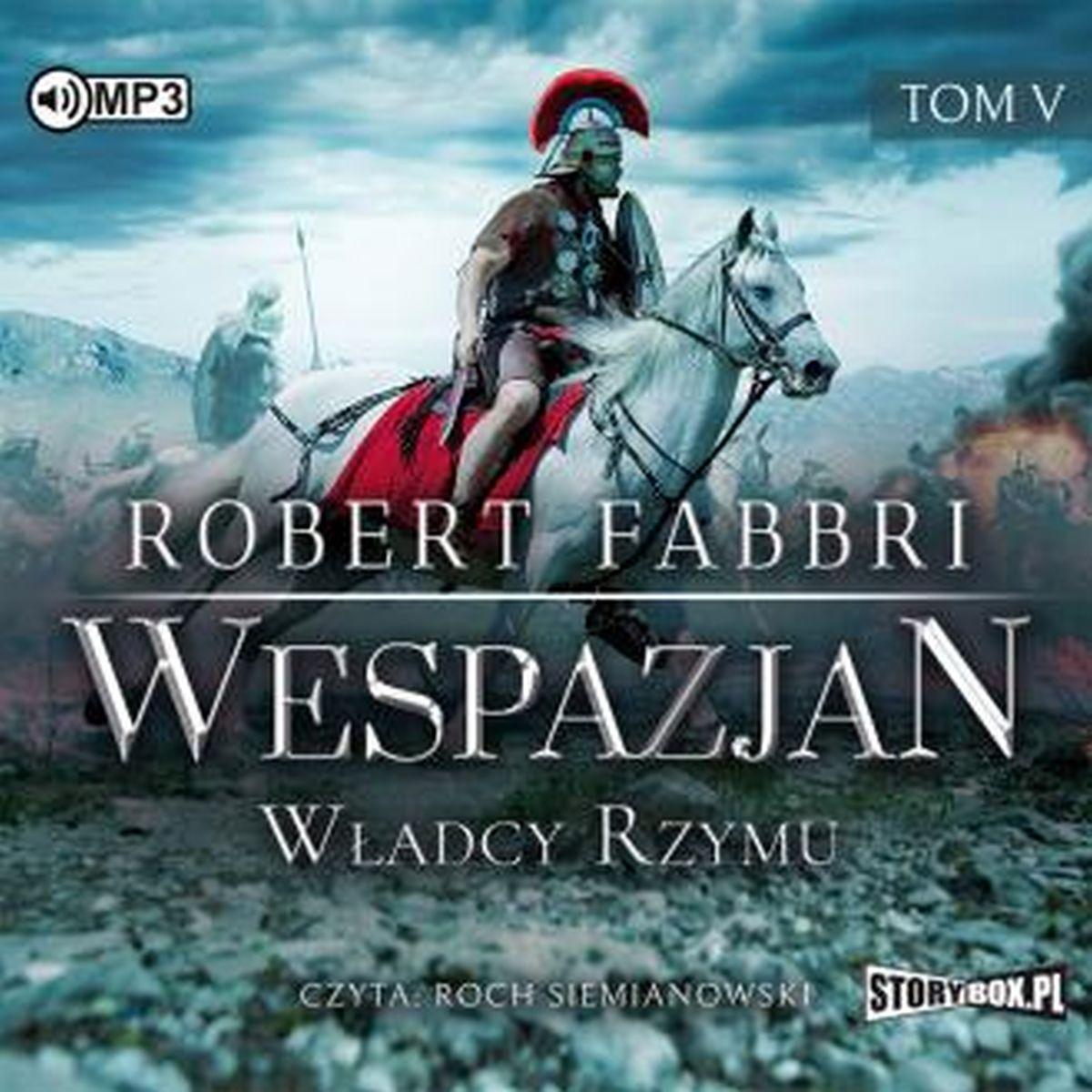 CD MP3 Władcy Rzymu Wespazjan tom 5