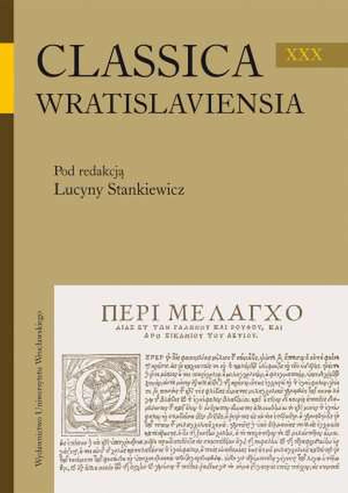 Classica Wratislaviensia XXX
