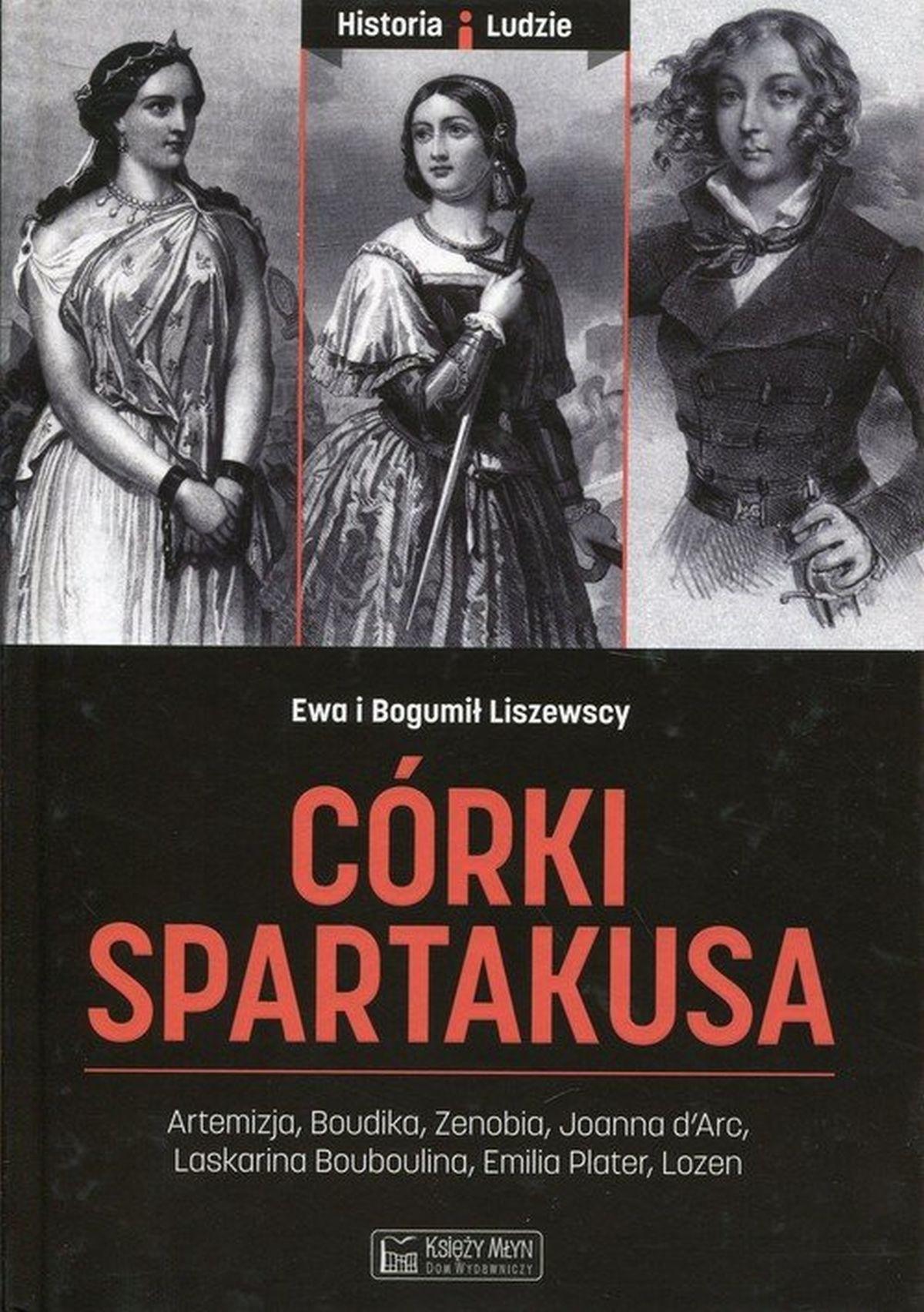 Bogumił Liszewski, Ewa Liszewska, Córki Spartakusa