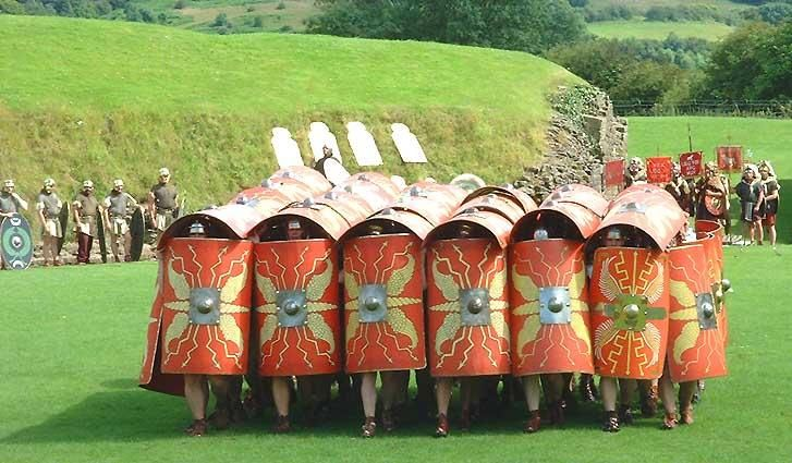 Rzymskie testudo