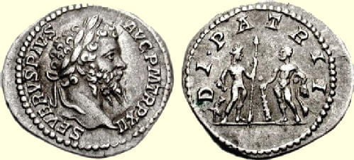 Coin of Septimius Severus